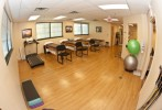 The Physical Therapy gym at Trinity Rehab in East Brunswick, NJ.