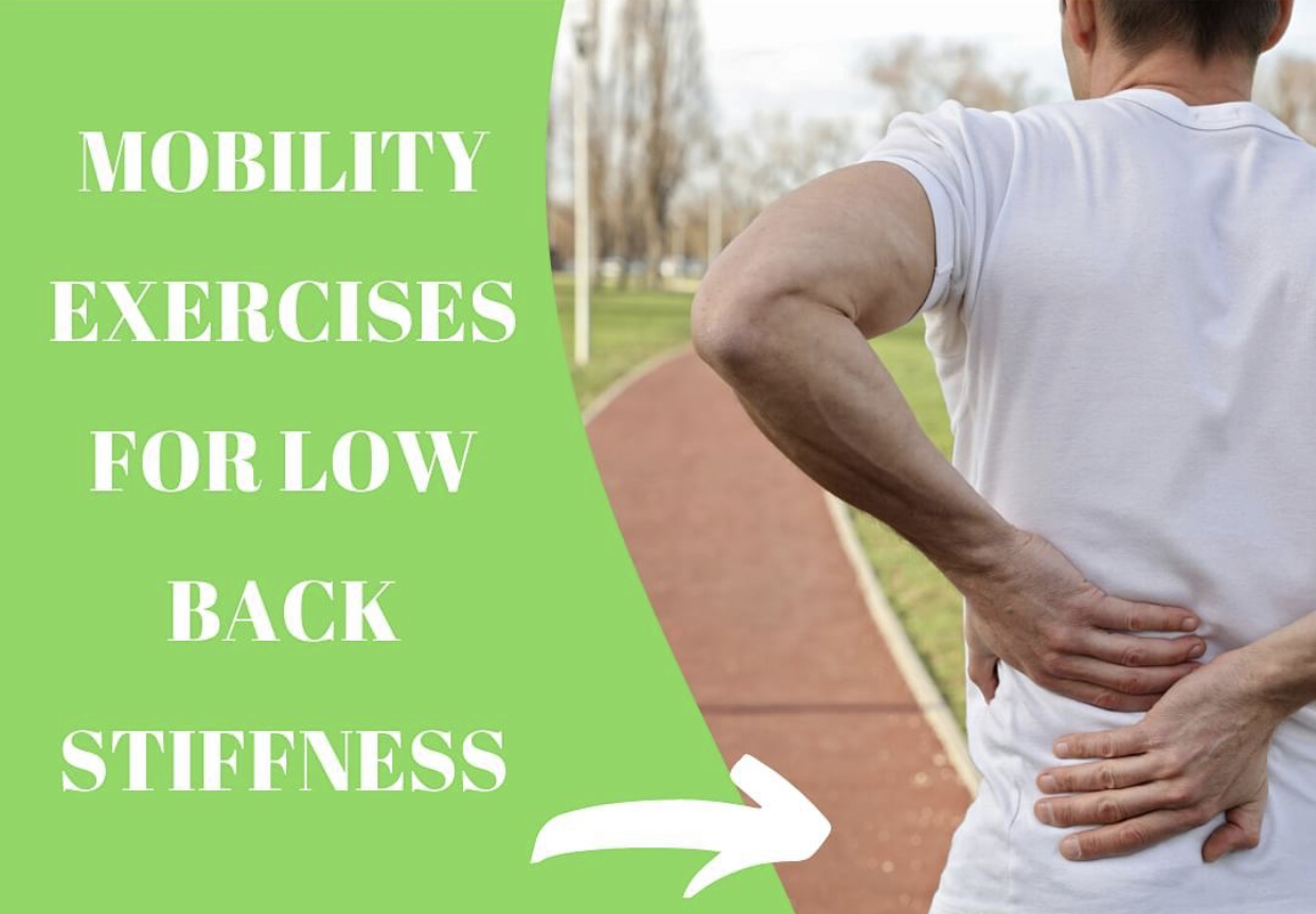 Mobility Exercises for Lower Back Stiffness