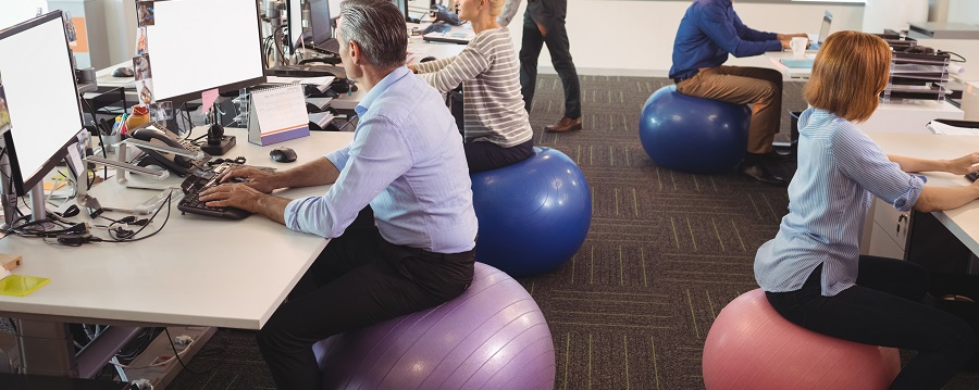 New Ways to Stay Fit at Your Desk Job