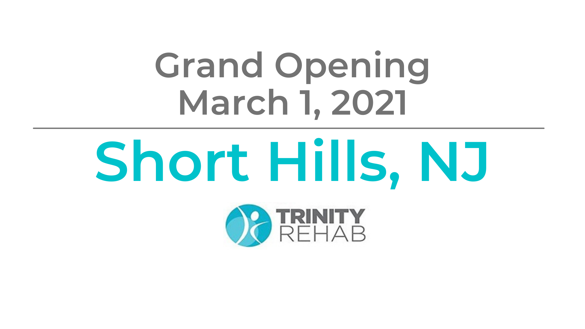 Trinity Rehab To Open New State-of-the-Art Physical Therapy Facility in Short Hills, New Jersey
